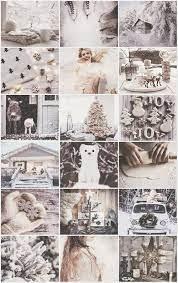 White Christmas aesthetic