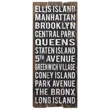 uttermost 48 high city names ii retro new york wall art on city names wall art with uttermost 48 high city names ii retro new york wall art textiles