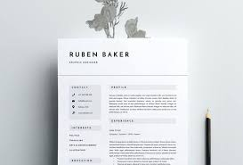 Resume Template Indesign Resume Design Templates Resume Design