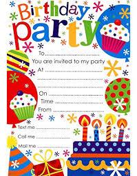 Invites Birthday Party Party Invitations Amazon Co Uk