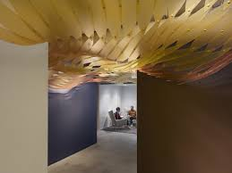 creative office ceiling. Delighful Ceiling The Multitude Of Unique Parts And Pieces Connected Together Into  Holistic Form Reflects Collaborative Creative Environment This Office Inside Creative Office Ceiling