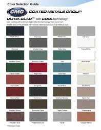 Standing Seam Roof Color Chart Standing Seam Metal Roofing Goebel Roofing Siding
