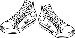 converse shoes black and white clipart. pin converse clipart basketball shoe #1 shoes black and white n