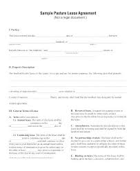 Simple Land Agreement Sample Choice Image Download Lease Template ...