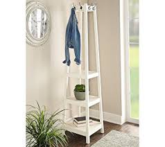 Powell Coat Rack Amazon Powell Helena Coat Rack White Kitchen Dining 8