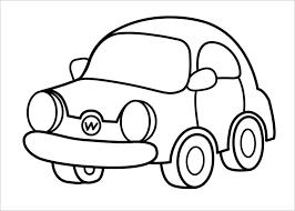 Tranh tập tô màu các loại ô tô cho bé từ 1-10 tuổi (P2) - Xetreem