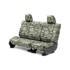2nd row camouflage digital forest custom seat coverscaltrend