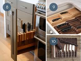 Toss the Block: 10 Creative Ways to Store Kitchen Knives