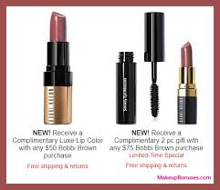 receive a free 3 pc gift with your 75 bobbi brown purchase
