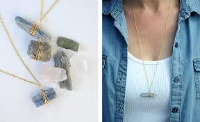 handmade crystal pendants gift