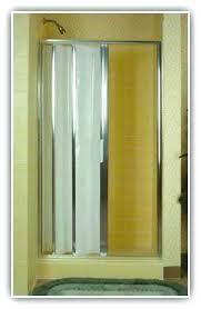 concertina glass shower doors accordion glass shower doors