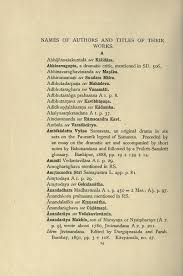 Pagebibliography Of The Sanskrit Dramadjvu44 Wikisource The