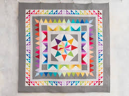 Frequency Quilt Kit | Craftsy & 1 / 9 Adamdwight.com