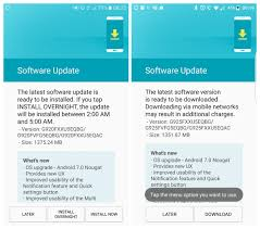 How To Download Galaxy S6 And S6 Edge Nougat Ota Update And