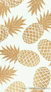 cute pineapple wallpaper. Perfect Wallpaper Image De Wallpaper Gold And Pineapple More Inside Cute Pineapple Wallpaper E