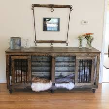 Designer Dog Crate Furniture Great Friday Favorites Wood Block Floor And A  Beautiful Kennel Yes 23