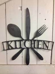 metal wall art for kitchen