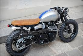 cafe tracker scrambler tracker motorcycle and wheels