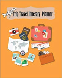 Travel Trip Planner Trip Travel Itinerary Planner Vacation Trip Travel