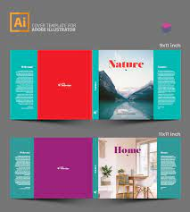 coffee table book template stockindesign
