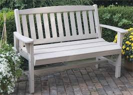 white resin outdoor bench off 63
