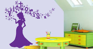 Small Picture Personalized Lettering Magic Princess wall decals Dezign With a Z