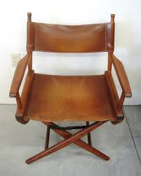 leather directors chair unique units for your unique home vintage cosco metal folding chairs