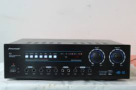 pioneer home stereo. color classification, pioneer 450 card package stereo a pair of + k3 amp home