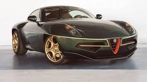 alfa romeo 8c disco volante. Wonderful Volante Alfa Romeo Disco Volante Returns To Geneva This Time In Green And Gold And 8c
