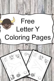 Small Picture Letter Y Coloring Pages