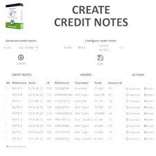 Sample Credit Note Invoice Credit Invoice Template Note Against Card Payment Receipt