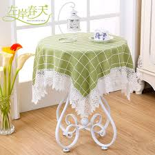 aliexpress small square table round table bubu arts square tablecloth on round table