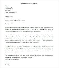 Cover Letter For Experienced Software Engineer Cover Letter Sales Engineer Download Software Engineer Cover Letter