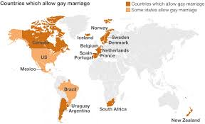 timeline of major same sex marriage developments world map showing countries where ssm is legal