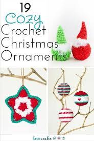 Christmas Ornament Patterns Best 48 Lovely Crochet Christmas Ornament Patterns