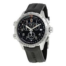 hamilton watches jomashop hamilton x wind gmt black dial men s chronograph watch