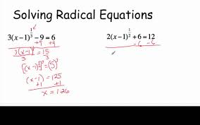solving radical equations with fractional exponents you
