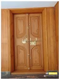 Kerala Teak Wood Door Designs Pin By Hitech Designers On Jithin In 2020 Double Door