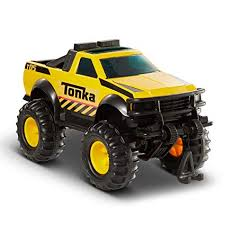 Amazon.com: Funrise Tonka Steel 4x4 Pickup Truck Vehicle: Toys & Games