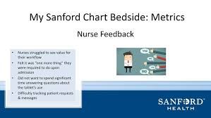 Sanford One Chart Leveraging Technology To Enhance The Patient Experience