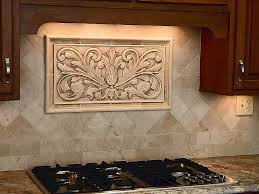 decorative ceramic tile backsplash with backsplash sstone insertsdecorative mozaic muralsrelief