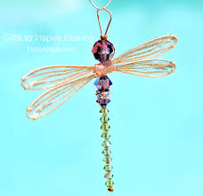 swarovski crystal dragonfly suncatcher inspirational dragonfly gifts