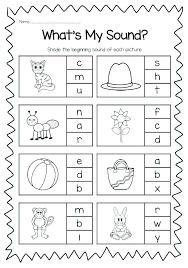 Phonics is a method of teaching kids to learn to read by helping them to match the sounds of letters, and groups of letters, to distinguish words. Phonics Worksheets Kindergarten Mom Free Printable Sumnermuseumdc Org