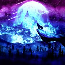 Galaxy Wolf Rainbow Wallpapers - Wallpaper Cave