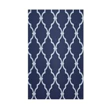 navy blue and white area rugs. simple rugs e by design geometric navy blue indooroutdoor area rug u0026 reviews  wayfair intended and white rugs n
