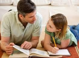 Resultado de imagen de padres se implican educación hijos