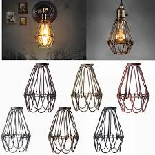 retro vintage industrial lamp covers pendant trouble light bulb regarding incredible house chandelier light bulb covers plan