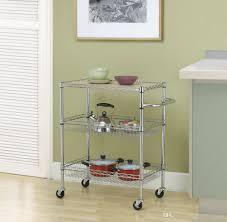 chrome 3 tier wire rolling kitchen cart utility food service microwave stand receita original cupcake receita original de cupcake from newlife2016dh