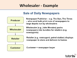 Wholesaler Example What Is Wholesaler Definition And Meaning Com