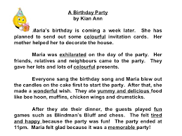 "school essay on my birthday party essay on ""how i celebrated my birthday"" complete essay for class"